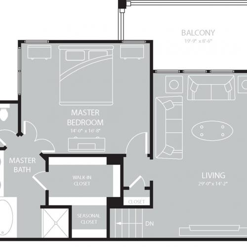 Floor Plan 16 | The Mansions on the Park