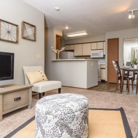 Elegant Living Room | Apartments for rent in Sioux Falls, SD | Autumn Park