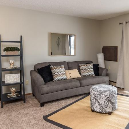 Luxurious Living Room | Apartment Homes in Sioux Falls, SD | Autumn Park