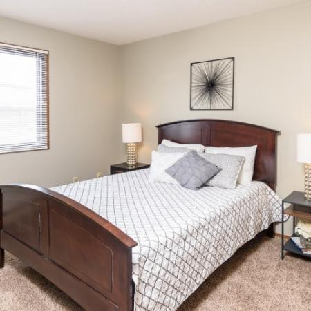 Spacious Master Bedroom | Apartments Homes for rent in Sioux Falls, SD | Autumn Park