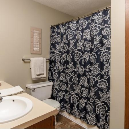 Spacious Master Bathroom | Apartments Homes for rent in Sioux Falls, SD | Autumn Park