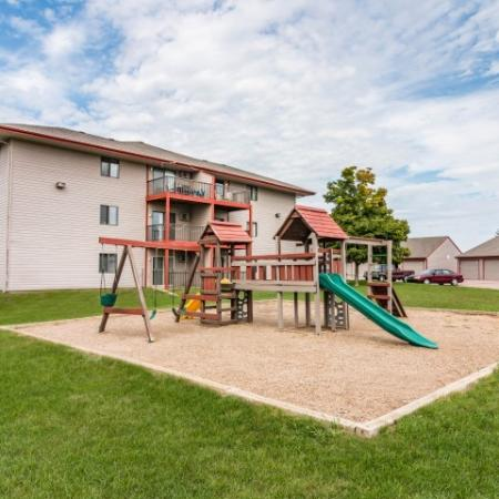 Community Children's Playground | Apartment Homes in Sioux Falls, SD | Autumn Park