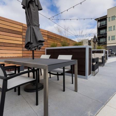 Resident Sun Deck | Des Moines Iowa Apartment For Rent | Cityville I