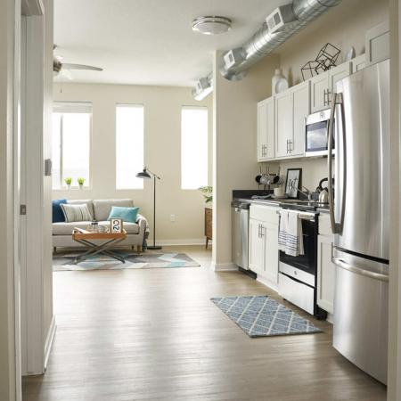 State-of-the-Art Kitchen | Des Moines Iowa Apartment Homes | Cityville I