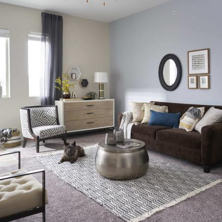 Elegant Living Room | Apartments for rent in Des Moines, Iowa | Cityville I