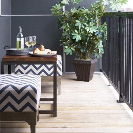Spacious Apartment Balcony | Des Moines Iowa Apartments For Rent | Cityville I