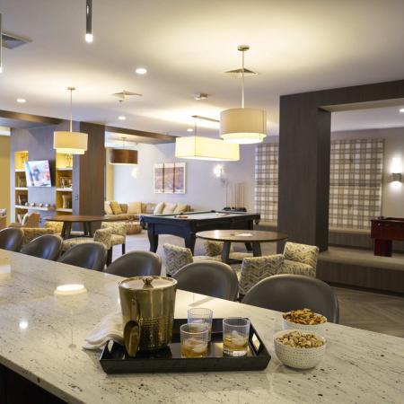 Elegant Community Club House | Des Moines Iowa Apartments | Cityville I