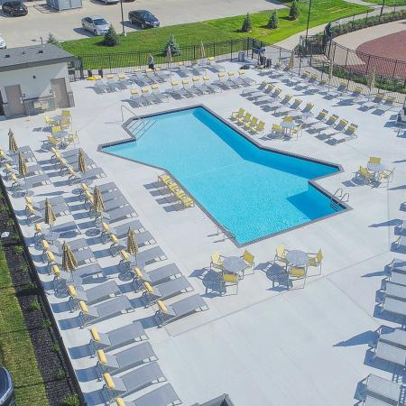 Resort Style Pool | Apartments in Des Moines, Iowa | Cityville I