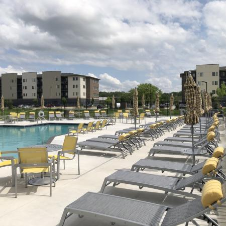 Sparkling Pool | Apartments for rent in Des Moines, Iowa | Cityville I
