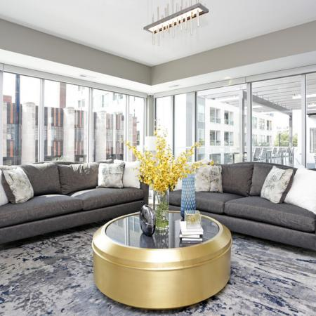 An Elegant Living Area | Apartments Des Moines, Iowa | 5Fifty5
