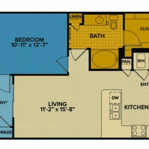 A2 Floor Plan