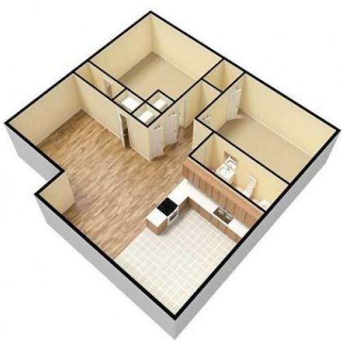 Scotsdale 2 Bedroom, 1 Bathroom