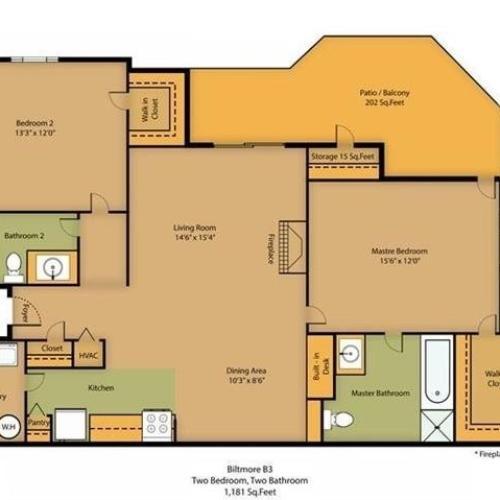Biltmore Floor Plan Image