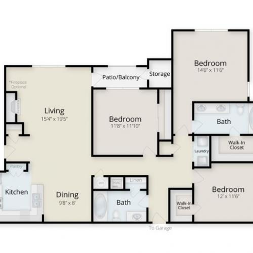 Outer Banks Floor Plan Image