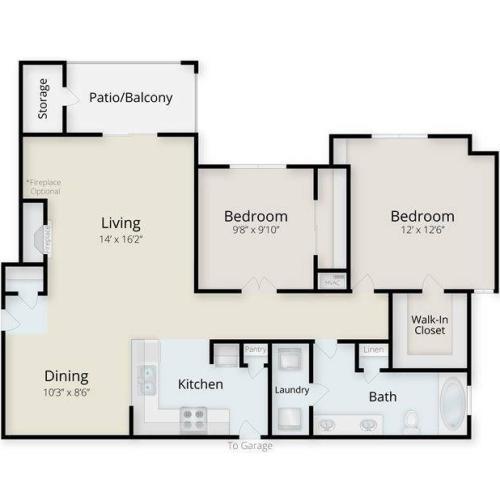 Hatteras Floor Plan Image