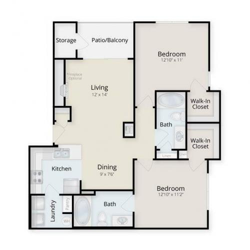Carolina Floor Plan Image