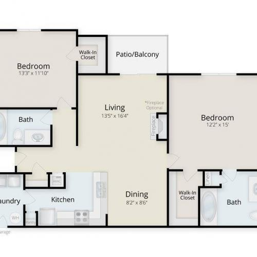 Cape Lookout Floor Plan Image