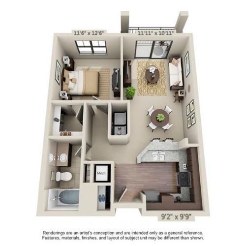 Aventura Floor Plan Image