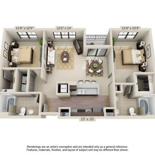 Sebastian Floor Plan Image