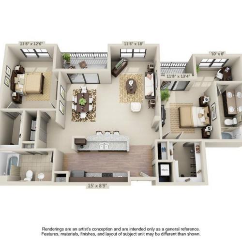 Naples Floor Plan Image