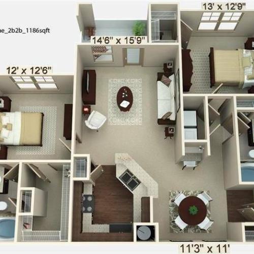 Sorrel Floor Plan Image