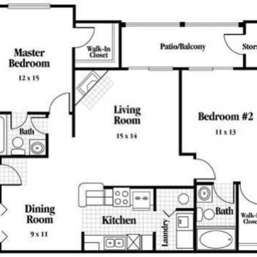 Cumberland Floor Plan Image