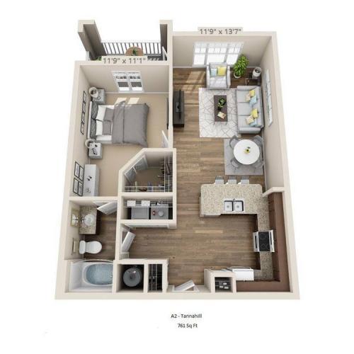 Tannahill Floor Plan Image