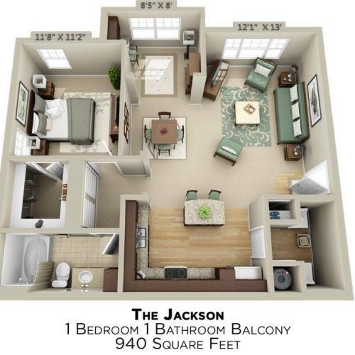 Jackson Floor Plan Image
