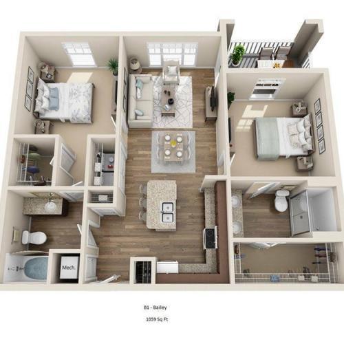 Bailey Floor Plan Image