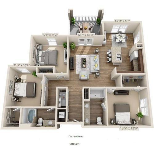 Williams Floor Plan Image