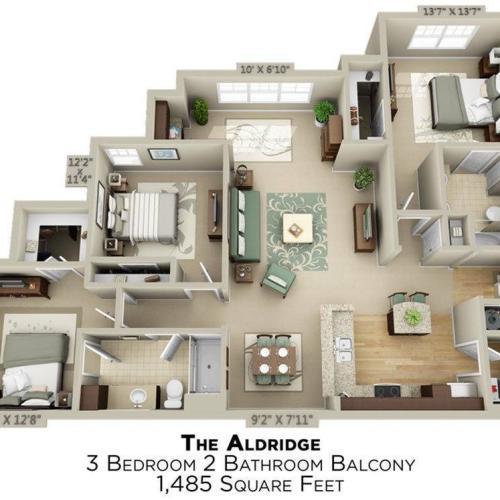 Aldridge Floor Plan Image