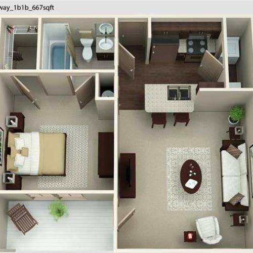Parkway 1 Floor Plan Image