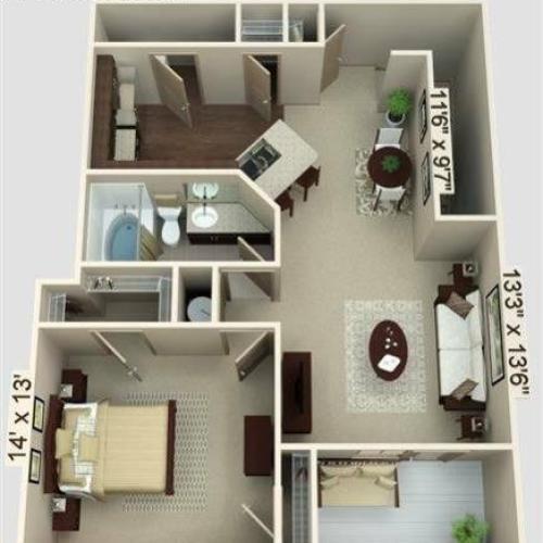 Terrace Floor Plan Image