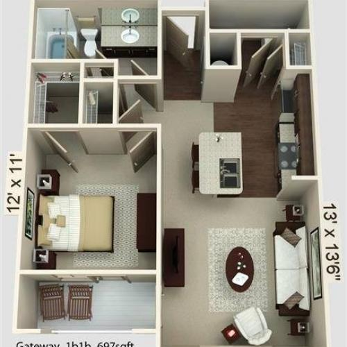 Gateway Floor Plan Image