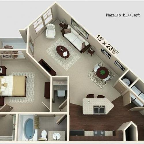 Plaza Floor Plan Image