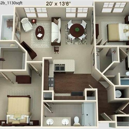 Heights Floor Plan Image