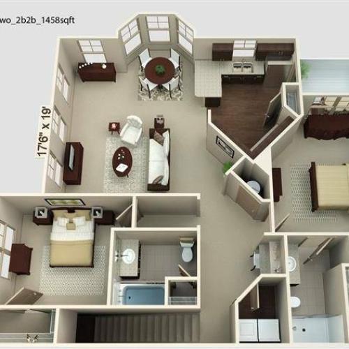 Boardwalk 2 Floor Plan Image