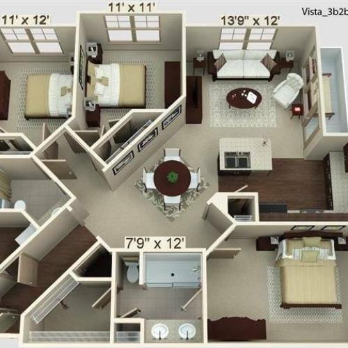 Vista Floor Plan Image