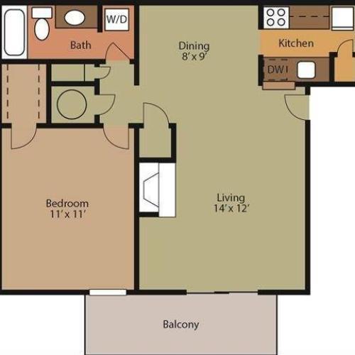 Brook Floor Plan Image