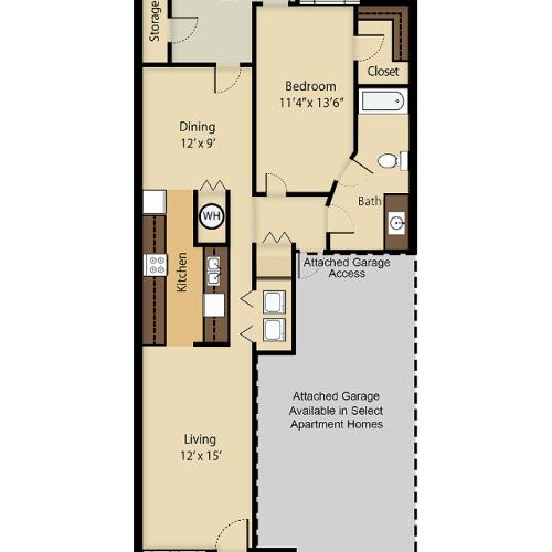 Windjammer 1 Floor Plan Image