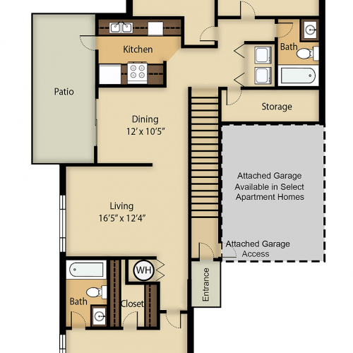 Catalina 2 Floor Plan Image