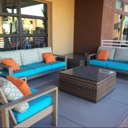 Resident Sun Deck | Liv Ahwatukee Apartments