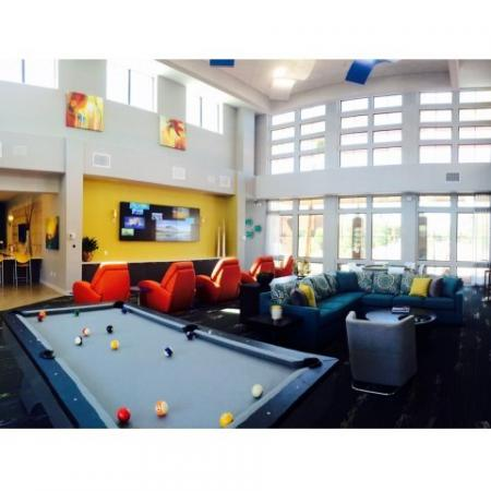 Resident Pool Table | Liv Ahwatukee Apartments