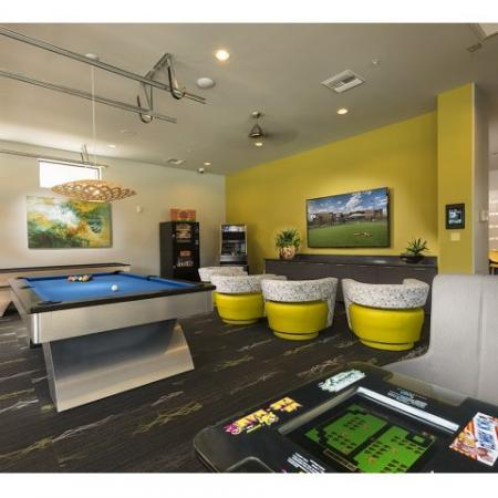 Resident Billiards Table | Liv Ahwatukee Apartments