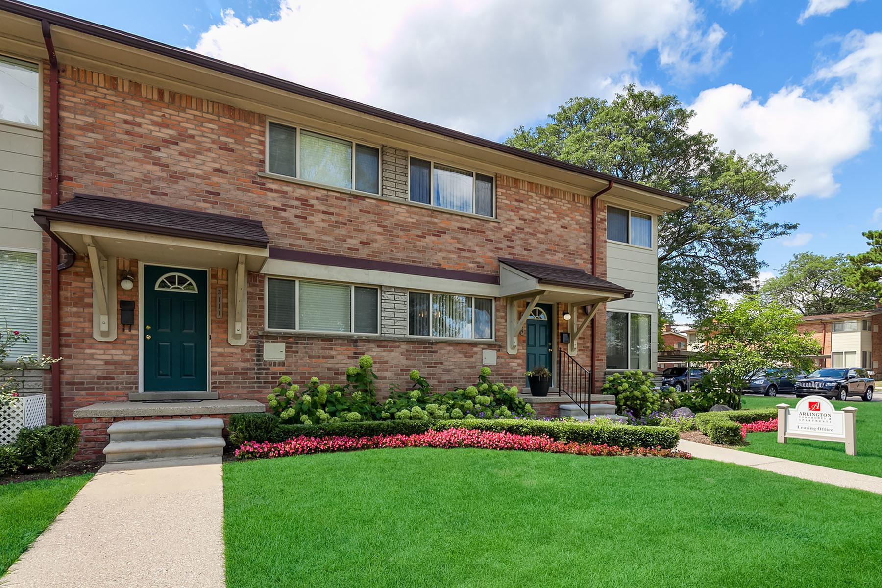 royal oak mi apartment rentals arlington townhomes apartments