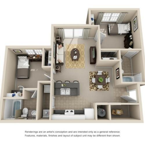 2 bedroom apartment athens ga