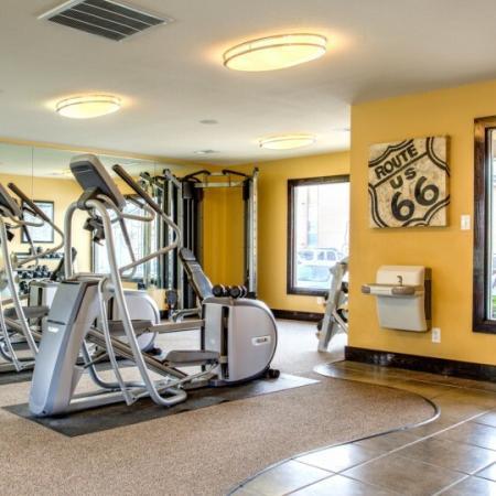 strength training apartment complex tamu