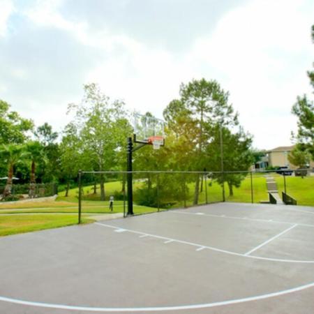 basketball court laurel ridge student apartments