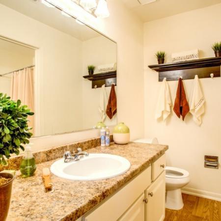 bathroom at laurel ridge