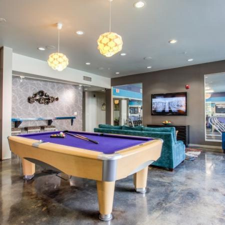 campus crossings highland pool table